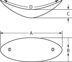 Curvilinear Silicone Chin
