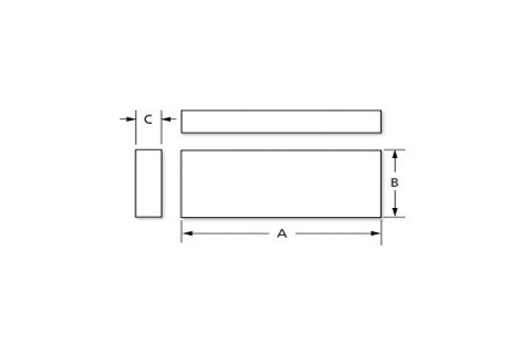Rectangular Carving Block – Various Durometers and Colors (Non-Sterile)