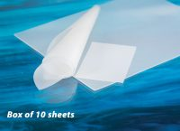"""AlliedSil™  Silicone Sheeting-Non-Reinforced, Long Term Implantable (2""""x3"""") Box of 10 Sheet"""