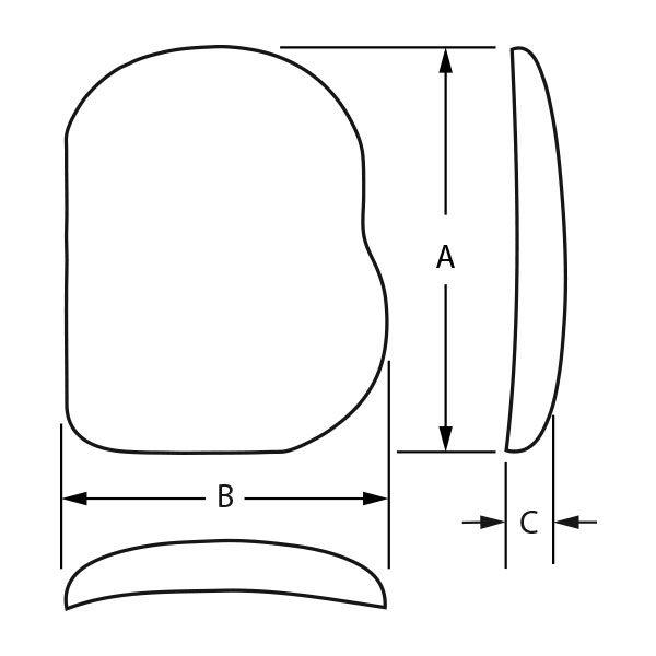 PowerFlex™ Pectoral – Novack Style 2 (Textured)