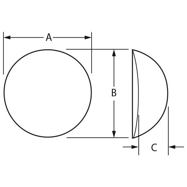 ContourFlex™ Gluteal – Round (Textured)