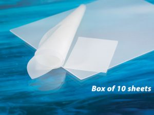 "AlliedSil™  Silicone Sheeting-Non-Reinforced, Long Term Implantable <br>(2""x3"") Box of 10 Sheet"