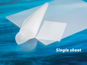 "AlliedSil™ Silicone Sheeting-Reinforced, Long Term Implantable (8""x6"")"